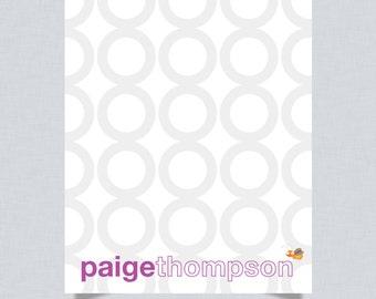 Custom Children's Notecards -- MOD LIL BUG