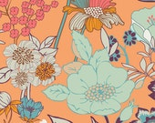 Beyond Bliss Tangerine (SML-200) - Summerlove by Patricia Bravo - Art Gallery Fabric - By the Yard