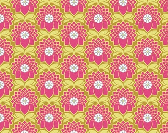 Chrysanthemum in Blush (JD51) - Joel Dewberry Fabric HEIRLOOM for Free Spirit - By the Yard