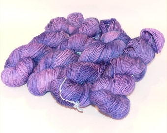 Superwash Bluefaced Leicester BFL Sock Yarn - Wallace