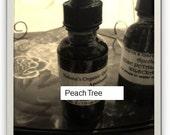 Local Pesticide Free Peach Tree Tincture- folk