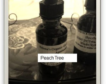 Local Pesticide Free Peach Tree Tincture- folk