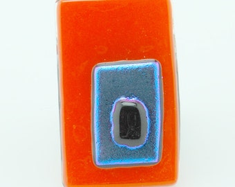 Electric Orange Pin/Pendant