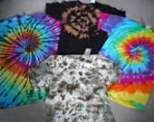 Surprise Tie dye T shirt Adult sizes