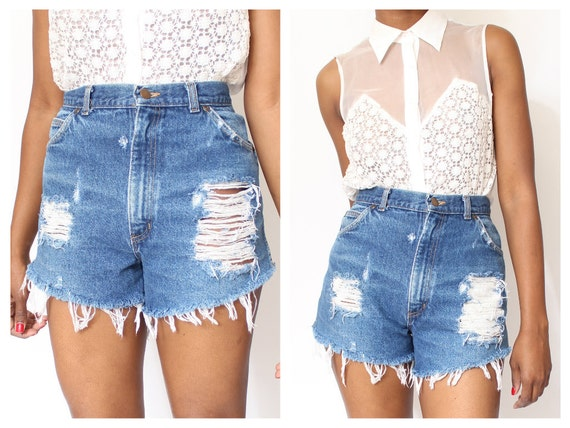 High Waisted Shorts Long - The Else