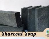 Charcoal Soap- Cold Process Soap - Organic Soap