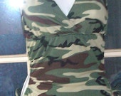 camo print monokini other colors available you select size