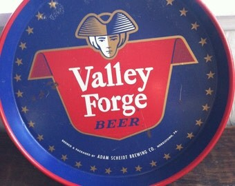 1970s Valley Forge Beer Tray