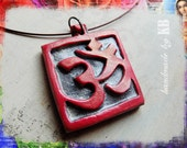 OM Necklace - One of a Kind Yoga Inspired Aum Pendant