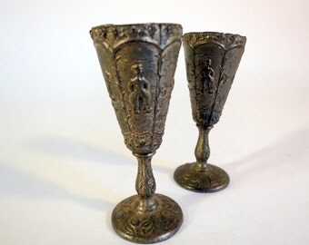Dutch Style Antique Toy Cups