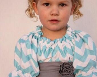 Easter dress, baby Girl dress,  chevron easter dress, Chevron girls dress