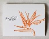 Bird of Paradise- Thank You Card