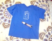 Blue TARDIS Shirt