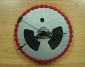 Recycled Bicycle Chainwheel Clock