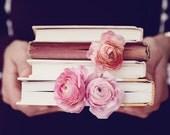 Book Photo - Fine Art Photography, book, love, read, novel, feminine, literary, print, art, cottage chic, fine art print, library, decor