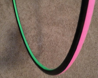 Pink and Neon Green Adult Hula Hoop