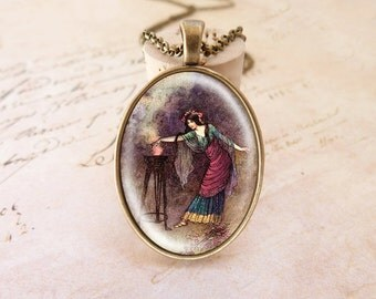 Witch  - Vintage Necklace