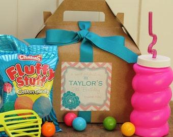 Set of 6 - Birthday Party Goodie Box  - Delilah Design // Sweet 16 Party Favor Box // Kids Party Favor Box // Goodie Bag