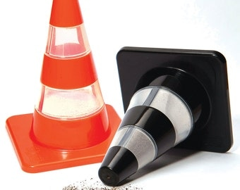 Traffic Cones: Salt & Pepper Shakers
