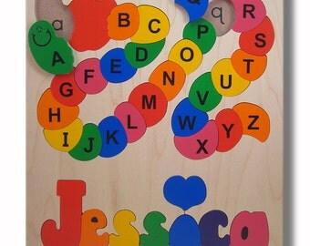 Wooden Name Puzzle/ ABC Alphabet