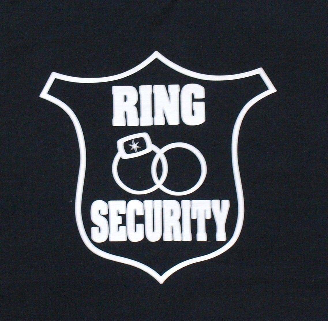 Ring Bearer Shirt Ring Security Shirt Customize with his