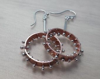 Pin-Head Earrings