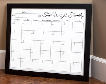 Print Your Own - Family Calendar - Style 1.5