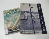 "Sail Boat Books ""Sailing"" & ""Basic Sailing"" Fun Reading, Learning or Sharing Gift Idea Collectible Book Set Softcover Instructional Books"