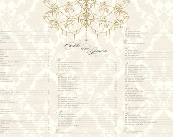 Any wedding seating chart PRINTED, MOUNTED & SHIPPED