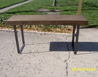 Desk, Rustic Desk, Rustic Table, Vanity Table, Wood Desk, Small Kitchen Table, Industrial Desk, Office Desk, Furniture, Computor Desk,