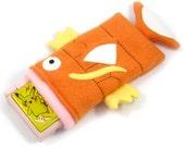 Magikarp Pokemon Nintendo 3ds/Custom Size pouch fleece camera carrying case 3ds / DSi / ds Lite / 3ds xl / psp holder