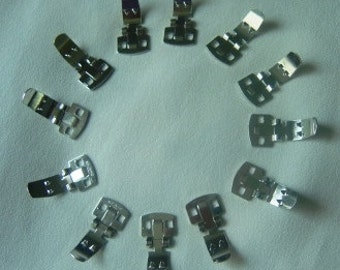 Shoe Clips Base Pins (Six pairs/12 pieces)