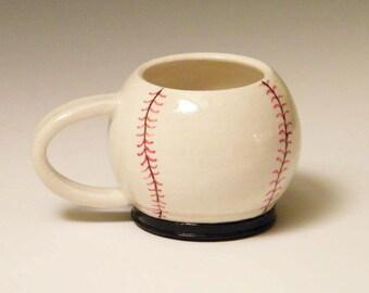 Ceramic Baseball Cup