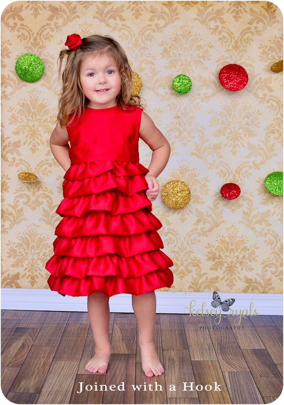 Vivienne Party Dress Ruffle