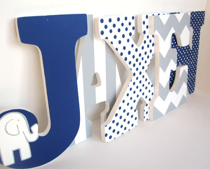 Letters For Baby Boy Room