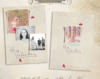 2013 Valentines vol.5 5x7inch CARD templates for photographers