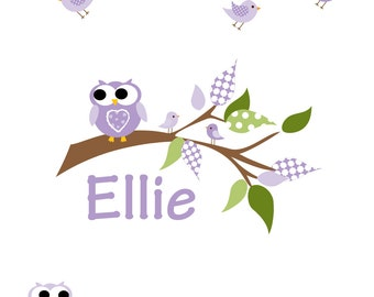 Decals Stickers Vinyl Wall Decal Tree Branch Owls