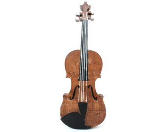 Children's Violin Puzzle and Decor