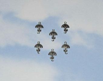 Umbrella Charms / Set of 6