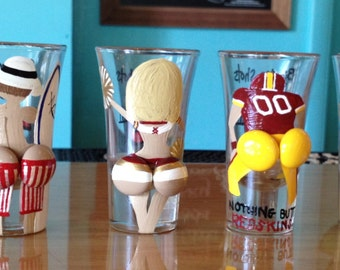 Boob shot glass Etsy