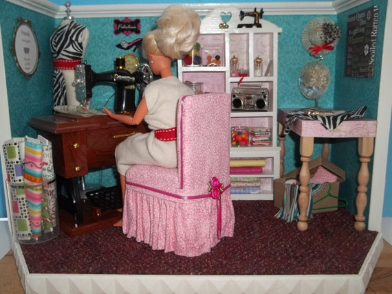Barbie Bedroom In A Box: Unavailable Listing On Etsy