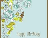 Birthday/Late Birthday Card