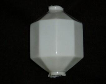 Lightning Rod Globe Ball, White D& S 10-Sided