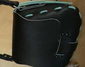 Handbag, Shoulder Bag, Boho Chic, Black Leather