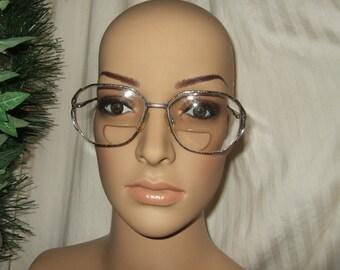 Vintage eyeglass frames metal eyeglass frames vintage eyewear vintage eyeglasses glasses Givenchy oversize eyeglasses oversize eyewear