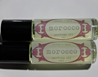 MOROCCO Perfume Oil, Vegan Perfume, Natural Perfume