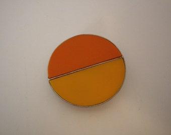 Mod Belt Buckle // Orange Belt Buckle