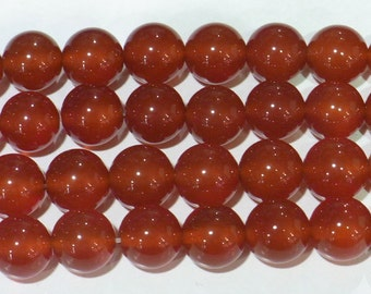 Red Agate Beads 8mm Round  6460 15''L Natural Genuine Semiprecious Gemstone Bead Wholesale Beads