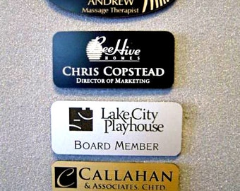 Custom Laser Engraved Nametag