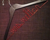Personalized Hanger for Teacher - Great Gift and Keepsake